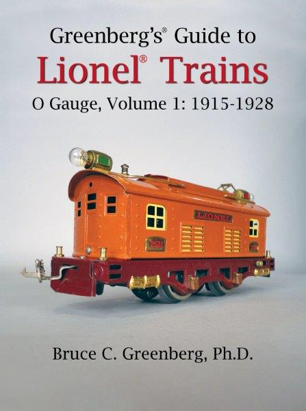 Forthcoming Lionel Prewar O Gauge Trains, 1915-28